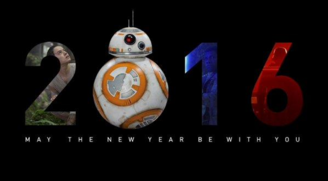 It's 2016!  Time to Watch Star Wars Again!