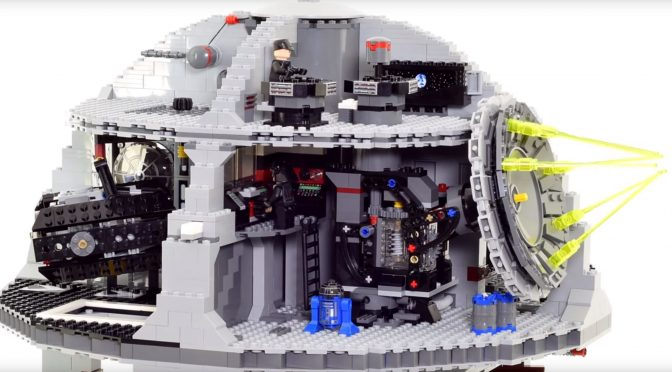 A Fascinating LEGO Death Star Video
