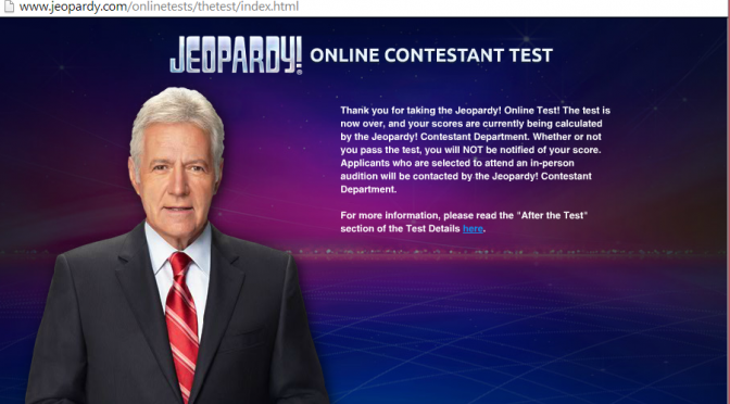 Just Took the Online Jeopardy Test