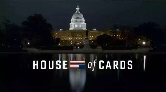 Can't Stop Watching House of Cards