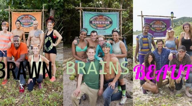 Survivor: Cagayan – Brawn v Beauty v Brains BEGINS!