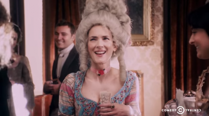 Drunk History:  Benedict Arnold and Winona Ryder