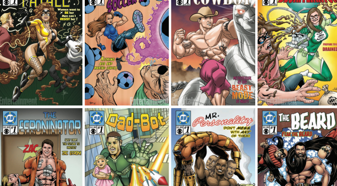 Awesome Big Brother 16 Comic Book Covers