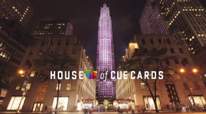 "Jimmy Fallon's ""House of Cue Cards"""