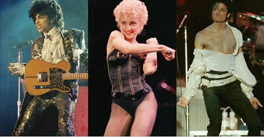 Gawker ranks Michael, Madonna, and Prince