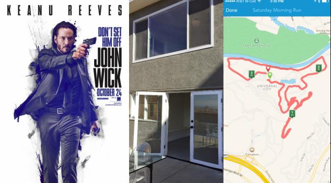 Sunday Catchup: 5Ks, Trulia, and John Wick