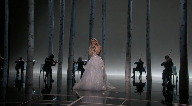 Lady Gaga and Her Amazing Sound of Music Oscars Performance