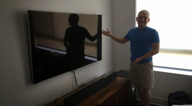 Mounting TVs?  Yeah, We Got That