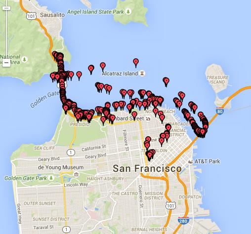 28 Aug SF Photo Map