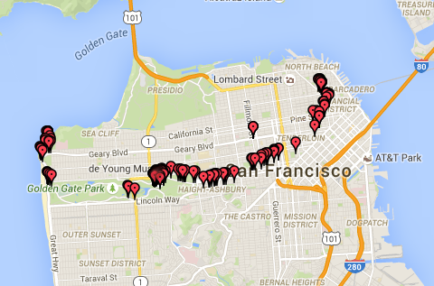29 Aug SF Photo Map