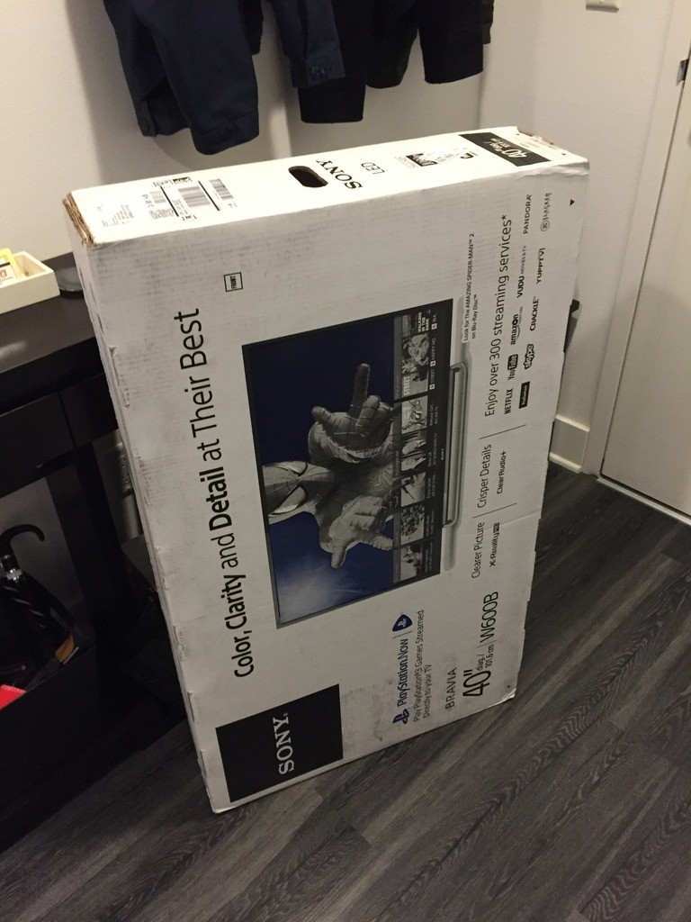 New TV for the Office/Bedroom