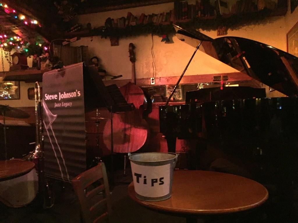 Jazz setup at Jax