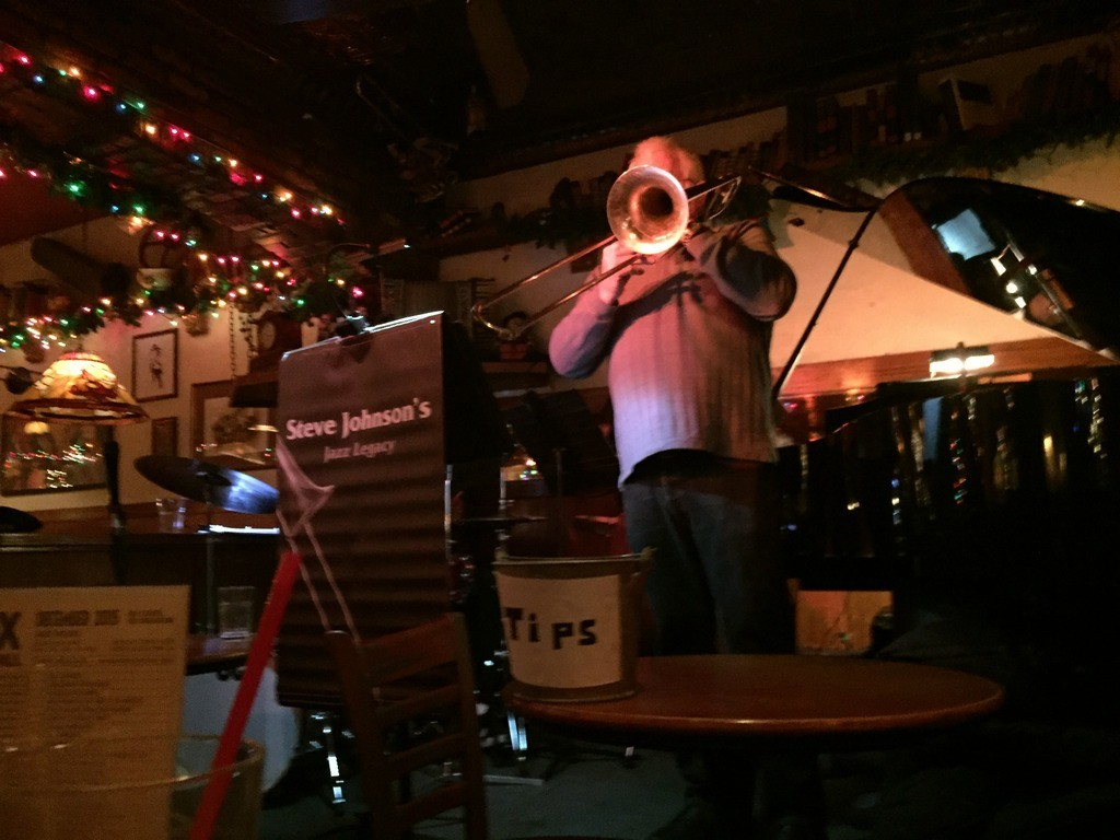 Jazz Legacy was playing that night