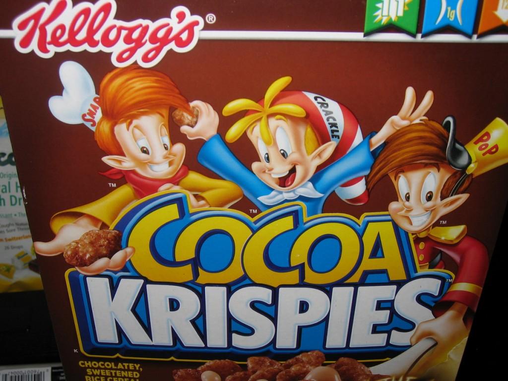1-070103 - Cocoa Krispies box