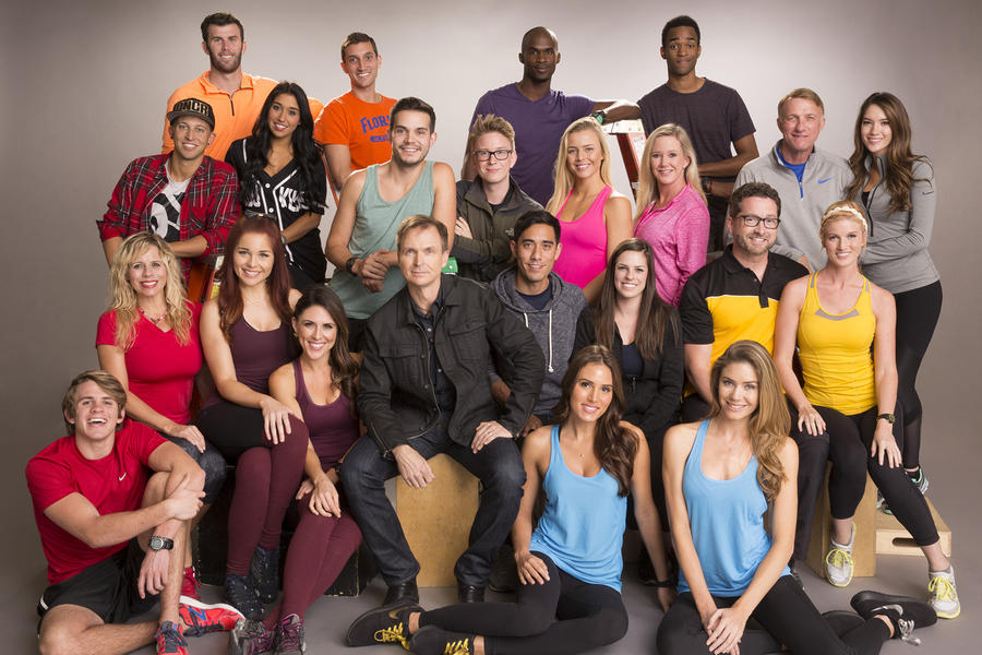 The 11 new teams of social media influencers who will embark on the journey of a lifetime on the 28th season of THE AMAZING RACE which premieres Friday, Feb. 12 on the CBS Television Network. Top Row, L-R: Kurt and Brodie, Darius and Cameron; Second Row, L-R: Matt and Dana, Korey and Tyler, Hagan and Marty, Scott and Blair; Third Row, L-R: Sheri, Erin and Joslyn, Host Phil Keoghan, Zach and Rachel, Burnie and Ashley; Bottom Row, L-R: Cole, Jessica and Brittany Photo: Cliff Lipson/CBS ©2015 CBS Broadcasting, Inc. All Rights Reserved