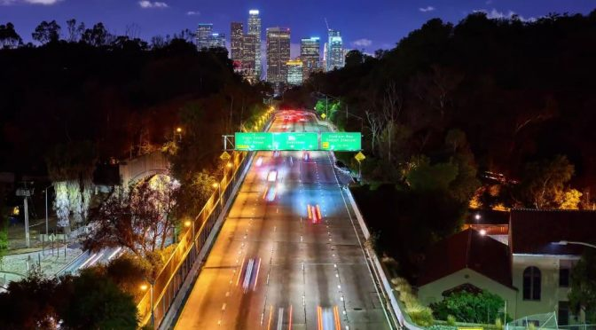 A Gorgeous LA Timelapse Video