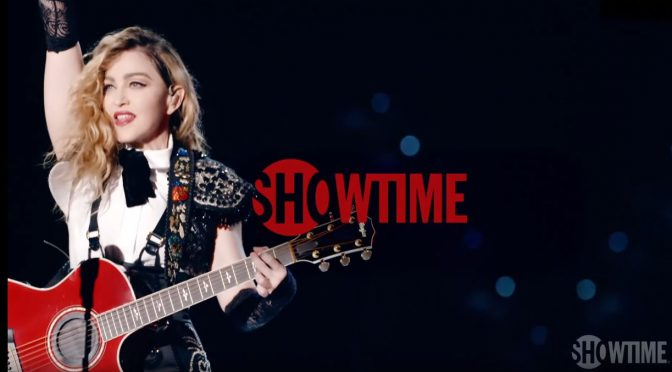 Madonna's Rebel Heart Tour on Showtime on Friday Night!