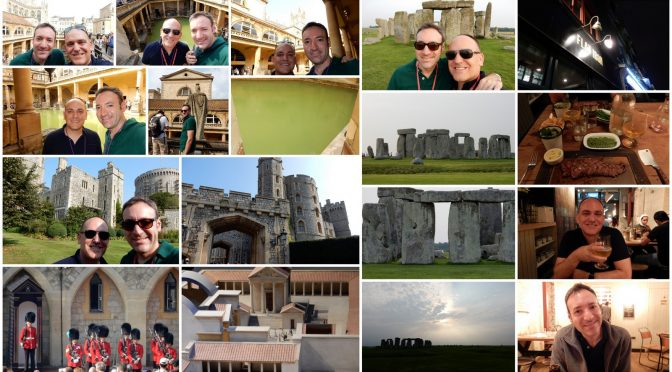 Touring the English Countryside (Stonehenge!)