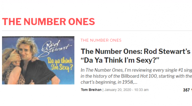 Larry Loved:  Stereogum's 'The Number Ones' article series