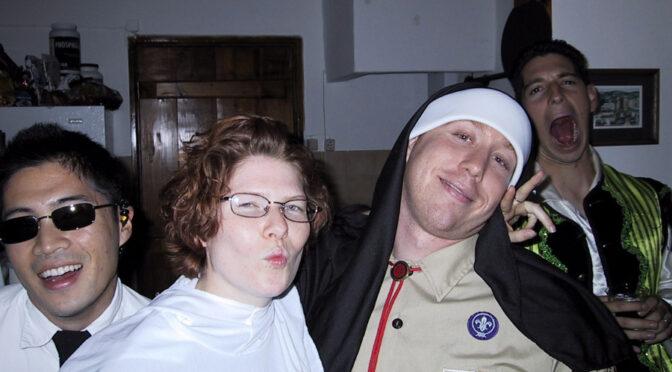 Halloween Party at the Salga House